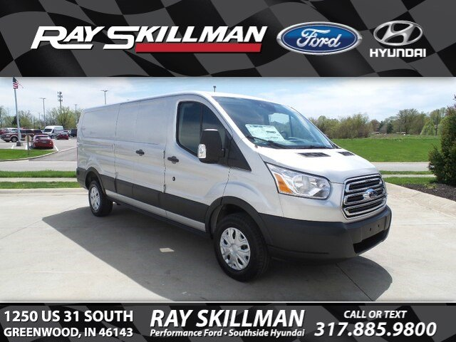 New 2019 Ford Transit w/60/40 Pass-Side Cargo Doors