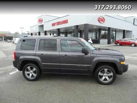 Pre-Owned 2017 Jeep Patriot LTHR,MOONROOF